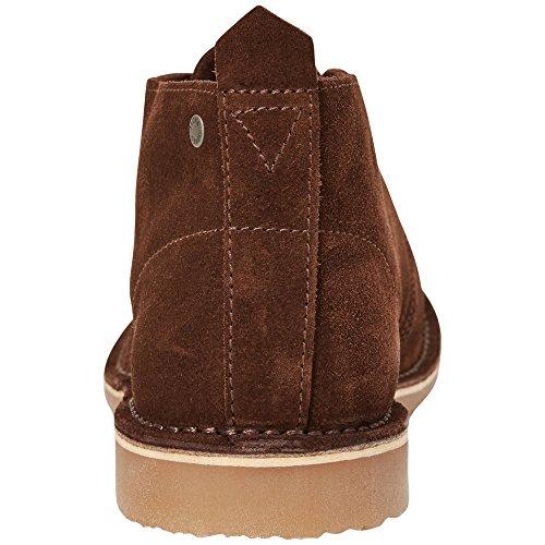 JACK & JONES Herren Jfwgobi Suede Chocolate Brown Desert Boots Schokobraun