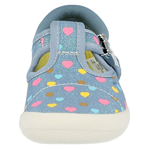 Clarks  Briley Fun Fst, Bracelet en T fille Gris