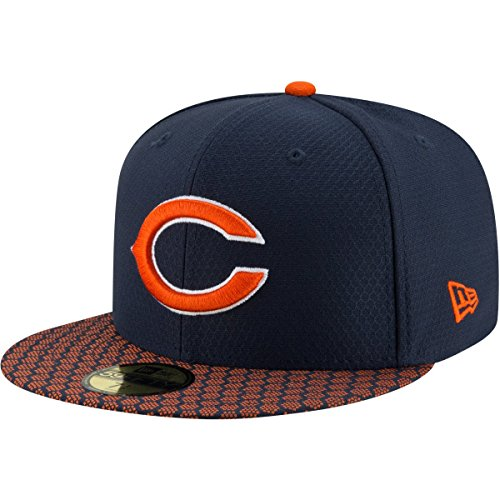 New Era 59Fifty Cap - SIDELINE 2017 Chicago Bears - 7 5/8