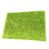 Demarkt Künstliche Rasen Moosmatten Deko Moos Flachmoos Moosplatten Dekoration Moss Miniatur Garten Ornament Gras Micro Landschaft DIY