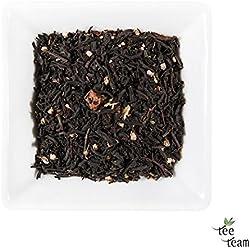 TeeTeam Schwarztee, Schwarzer Tee Himbeere - aromatisierter Tee, 100 g