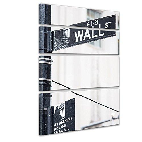 bilderdepot24-toile-dco-imprime-tableau-toile-wall-street-rue-signe-120x180-cm-4-pieces-tableau-sur-