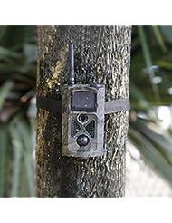 OUTAD 12 MP HD 1080P Caméra de Chasse, Surveillance Infrarouge Invisible avec LED IR pour Vision Nocturne Jusqu'à 20 m