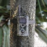 OUTAD 12 MP HD 1080P Caméra de Chasse, Surveillance Infrarouge...