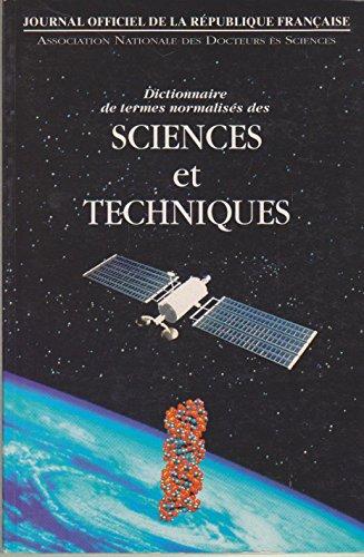 Dictionnaire de termes normalisés des sciences et techniques par Serge Paul