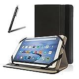 tabtek Housse Etui Portefeuille Noir compatible avec ASUS zenpad s8.0/zenpad 8.020,3cm Android 5.0Lollipop Zen Pad 8et stylet pour tablette