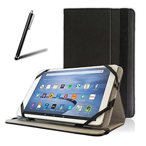 10 Zoll) PRONTOTEC Folio Tablet Schutzhülle Schwarz für NEPRO 10S/10D