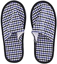 Royalford Bed Room Slippers - Indoor Slippers, Cotton Washable Non-Slip Home Shoes, Spa Slippers, Ideal in Win