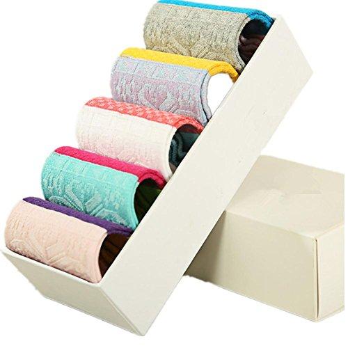 ldmb-chaussettes-femmes-5-paquets-absorbant-la-transpiration-poignee-respirante-confortable-coton-pu