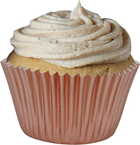 Rose Gold Folie Cup Cake Fälle (Packung mit 45)