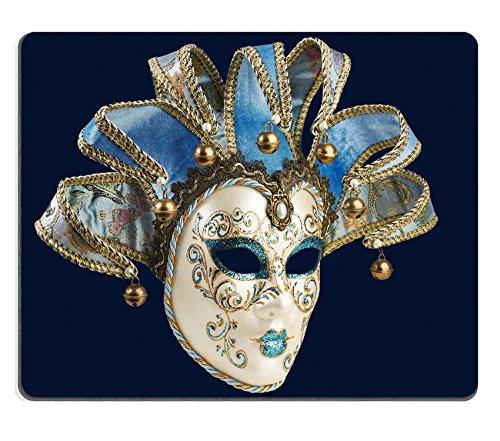 MSD Mousepad Bild-ID 27335896Isolierte blau Venezianische Maske auf einem Hintergrund 4362 -