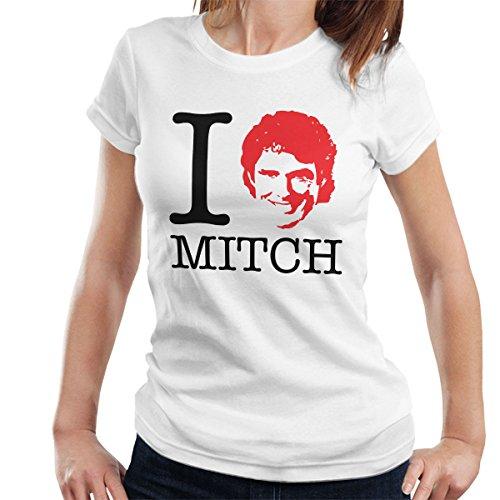 I Heart Mitch Baywatch David Hasselhoff Women's T-Shirt