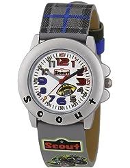 Scout Jungen-Armbanduhr Analog Quarz Plastik 280393021