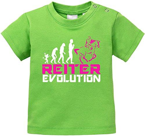 EZYshirt® Reiter Evolution Baby T-Shirt