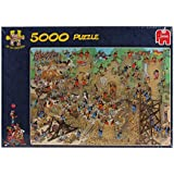 Jumbo 17223 - Jan van Haasteren: Medioevo - Puzzle da 5000 pezzi