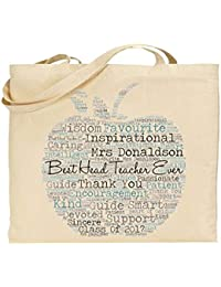 43aedef4a5 Personalised Head Teacher Tote Bag. for Everyday Use. Personalised Details  Required