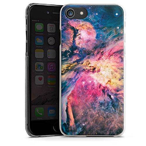 Apple iPhone X Silikon Hülle Case Schutzhülle Galaxy Universum Galaxie Hard Case transparent