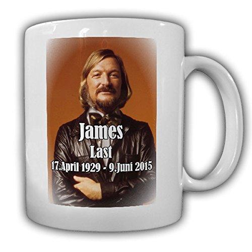 Preisvergleich Produktbild James Last Musiker Komponist Fan - Tasse Kaffee Becher #15419