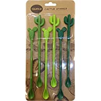 Lot de 5 touillettes agitateurs Cactus - cactus stirrer