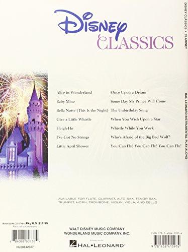 Clarinet Play-Along: Disney Classics (Disney Classics Playalong)