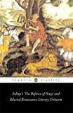 Sidney's 'The Defence of Poesy' and Selected Renaissance Literary Criticism (Penguin Classics)