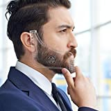 AMTOK Barba Peine Peine-guía Shaping Plantilla Todo la Barba estilo y Shaping Plantilla peine herramienta