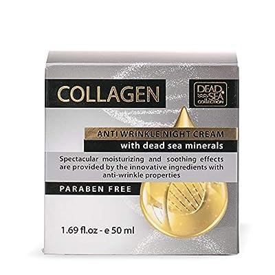 Dead Sea Collection Collagen with Dead Sea Minerals Anti Wrinkle Night Cream 1.69 fl oz