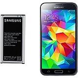SAMSUNG BATTERIE POUR SAMSUNG GALAXY S5 GT-i9600 2800mAh HAUTE CAPaCITÉ NFC ORIGINAL EB-BG900BBE EB-BG900BBEGWW BG900BBE-G900A, SM-SM-SM, G900T-G900P, SM-SM-G900R4 G900V