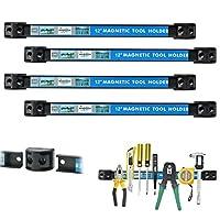 """Alouette Magnetic Tool Holder Racks 12"""" x 0.95"""" x 0.5"""" 4228636"""