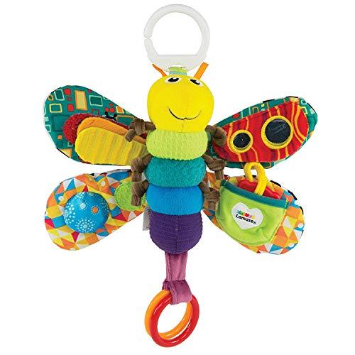 (Lamaze Baby Spielzeug Freddie, das Glühwürmchen Clip & Go - hochwertiges Kleinkindspielzeug - Greifling Anhänger zur Stärkung der Eltern-Kind-Beziehung - ab 0 Monate)