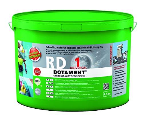 Preisvergleich Produktbild BOTAMENT® RD 1 Universal Reaktivabdichtung einkomponentig 2, 5Kg