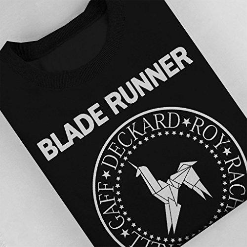 Blade Runner Ramones Logo Women's Sweatshirt Black