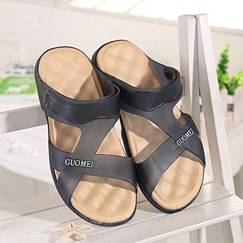 Scothen Sommer Sandale,Unisex Herren Jungen Garden Clogs Shoes Mens Garden Shoes Unisex Adult Sandals Slippers Slip strand Garten Pool Maultier EVA Holzschuhe Schuhe Summer Mountain Shoes Marine