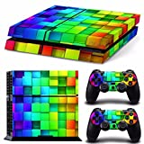 Seasiant India Lattice Style Vinyl Skin Decal for PS4 Play Station 4 Console and 2 Controllers Single Item.