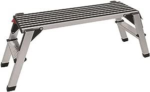 Trittbank Aluminium Arbeitsplattform Montage-Laufbühne Tragkraft 150 kg