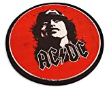 Tapis rond AC/DC Angus Young
