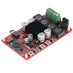 KKmoon TDA7492 Wireless BT 4.0 ricevitore audio Digital Stereo amplificatore Board Modul/50 W + 50 W Dual Canale Audio Receiver/endverst?rker tagliere