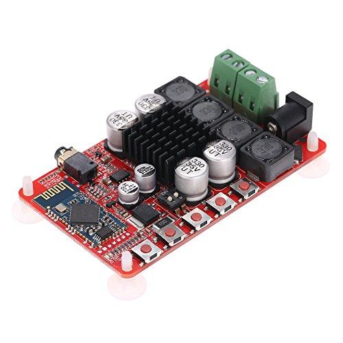 KKmoon TDA7492 Wireless BT 4.0 ricevitore audio Digital Stereo amplificatore Board Modul/50 W + 50 W Dual Canale Audio Receiver/endverst?rker tagliere