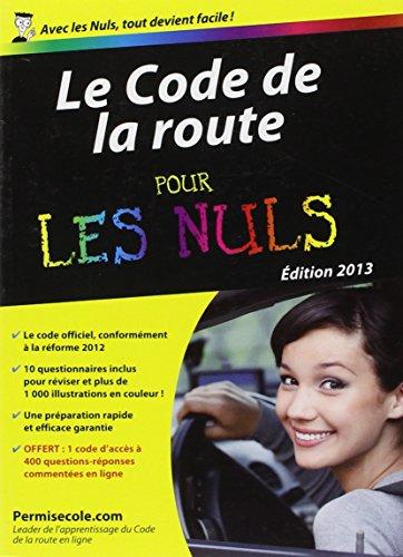 Code de la route 2013 Poche Pour les Nuls