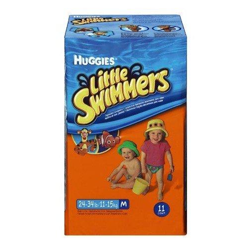 NIP Einweg-Schwimmwindeln 'Huggie's Little Swimmers' Gr. 5 / M