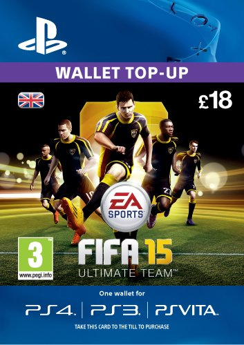 PSN CARD 18 GBP: EA Ultimate Team [PSN Code - UK account]