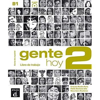 Gente hoy 2 B1 : Cahier d'exercices (1CD audio)