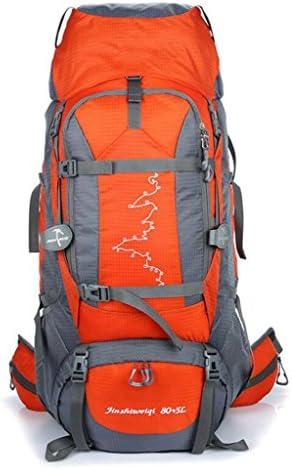 JBHURF Borsa Borsa Borsa da alpinismo per il tempo libero borsa da campeggio per il tempo libero zaino da 85L grande capacità blu (Coloreee   arancia) | Nuovo Prodotto 2019  | finitura  | Aspetto estetico  1b4d63
