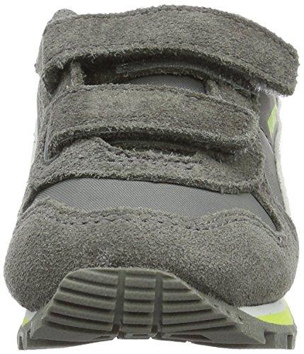 Puma St Runner Nl V Inf, Sneakers Basses Mixte Enfant Gris (Steel Gray-puma White 14)
