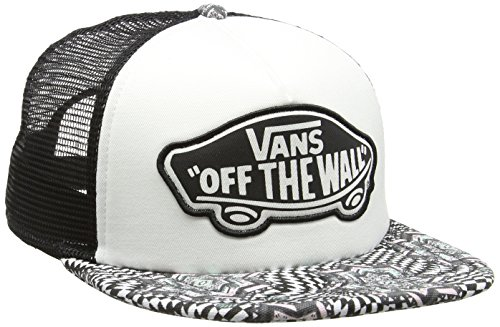 Vans - Beach Girl Trucker Hat, Berretto da baseball Donna, Bianco (Checker Kaleidoscope/True White), Taglia unica (Taglia Produttore: One Size)