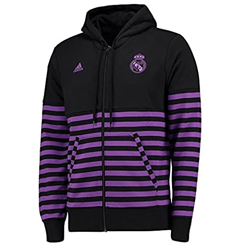 adidas Real Sweat-Shirt Homme, Noir, FR : 2XL (Taille Fabricant : 2XL)