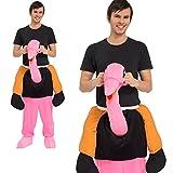 Monster Huckepack Kostüm tragender Vogel Strauss Unisex 50013 Karneval JGA Fasching
