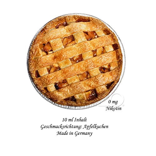 Apple Pie Liquid 10ml für E-Zigarette/Shisha / 0mg Nikotin