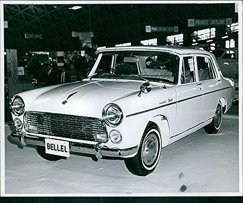 D'un affichage de photo Vintage Isuzu Bellel voiture, Tokyo, Japon, 1962.