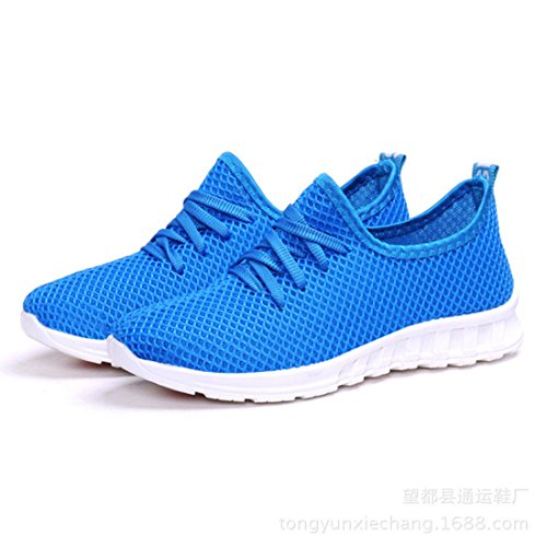 Unisex Breathable Round Toe Sapatos Lace Up Flat Casual Shoes WOMEN